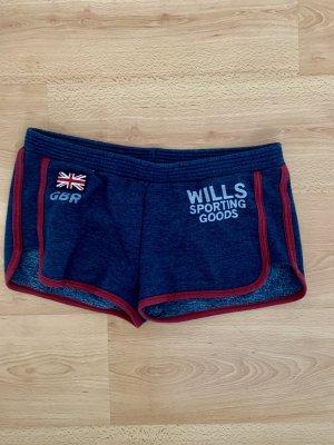 Jack Wills Short de sport multicolore