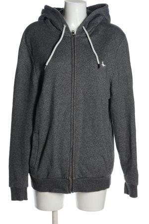 Jack Wills Giacca fitness grigio chiaro stile casual