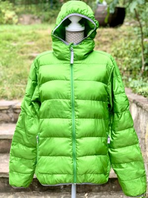 Jack Wolfskin Down Jacket meadow green polyester