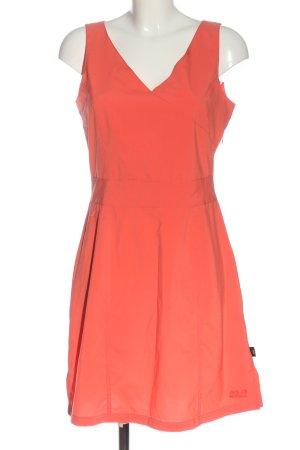 Jack Wolfskin A Line Dress light orange casual look