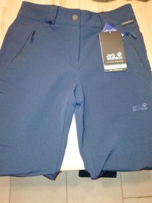 Jack Wolfskin Pantalone termico blu scuro
