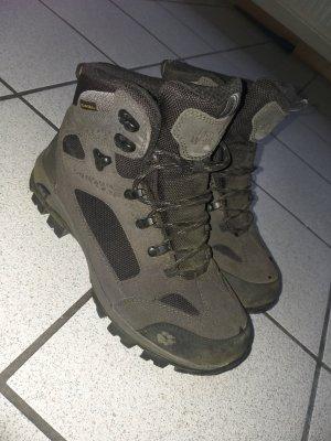 Jack Wolfskin Aanrijg laarzen zwart-wit