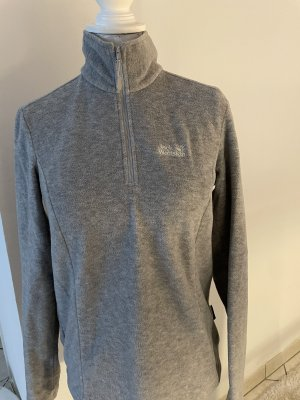 Jack Wolfskin Pull polaire gris clair