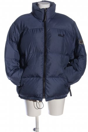 Jack Wolfskin Down Jacket blue-black quilting pattern casual look