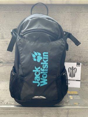 Jack Wolfskin  zwart-neon blauw