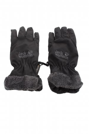Jack Wolfskin Guantes con dedos negro look casual