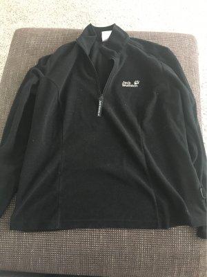 Jack Wolfskin Polarowy sweter czarny