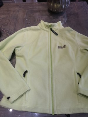 Jack Wolfskin Giacca in pile verde pallido