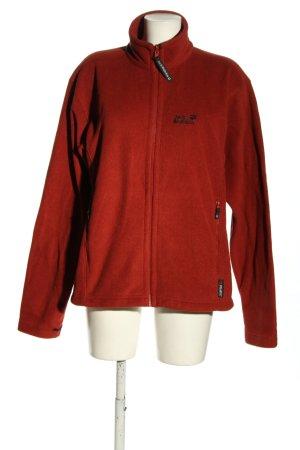 Jack Wolfskin Fleece Jackets red casual look