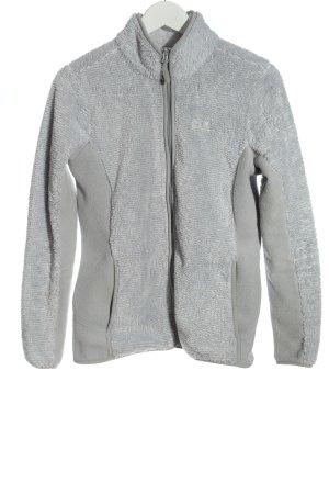Jack Wolfskin Fleece Jackets light grey casual look