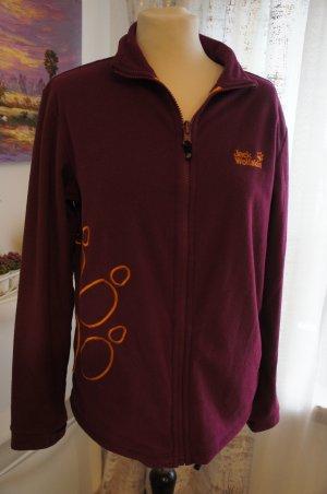 Jack Wolfskin Fleece Jackets brown violet
