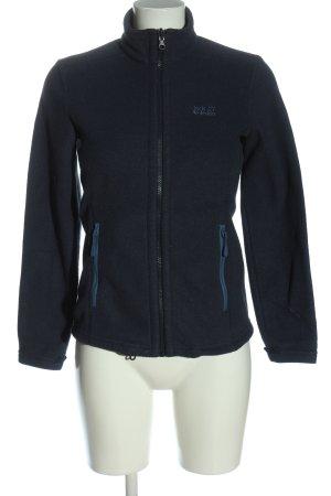 Jack Wolfskin Fleece Jackets blue flecked casual look