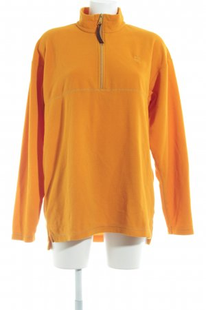 Jack Wolfskin Fleecejacke goldorange Casual-Look