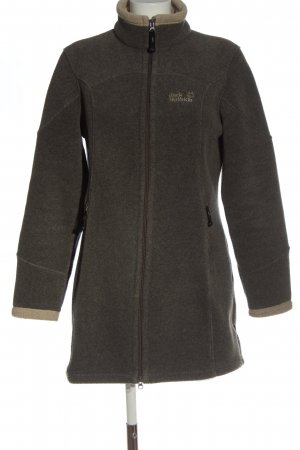 Jack Wolfskin Fleecemantel braun Casual-Look