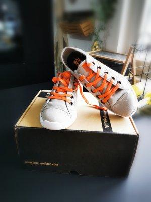 Jack Wolfskin, grau orangene sneakers 40 NEU
