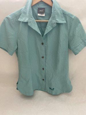 Jack Wolfskin Lumberjack Shirt turquoise
