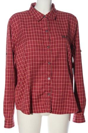 Jack Wolfskin Koszula w kratę Wzór w kratkę W stylu casual
