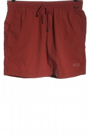 Jack Wolfskin Culotte Skirt red casual look