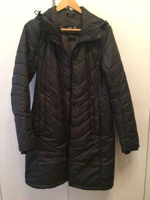 Jack Wolfskin Quilted Coat dark grey