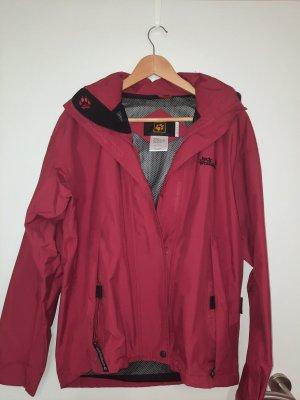 Jack Wolfskin Outdoor Jacket black-carmine