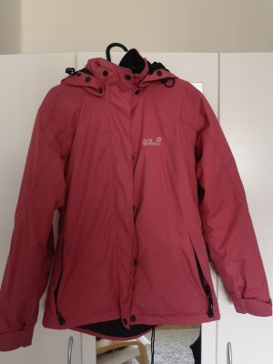Jack Wolfskin Imperméable rouge clair-magenta