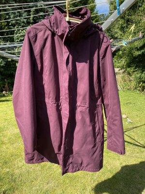 Jack Wolfskin Winter Jacket blackberry-red-brown violet