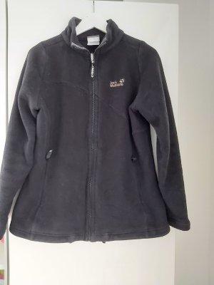Jack Wolfskin Jacke mit Reissverschlus in schwarz in Größe XL