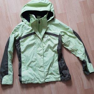 Jack Wolfskin Winter Jacket green grey-sage green