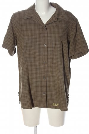 Jack Wolfskin Short Sleeve Shirt allover print casual look