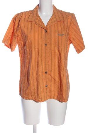 Jack Wolfskin Short Sleeve Shirt striped pattern casual look