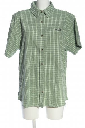 Jack Wolfskin Camisa de manga corta verde look casual