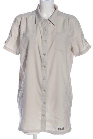 Jack Wolfskin Short Sleeve Shirt light grey casual look