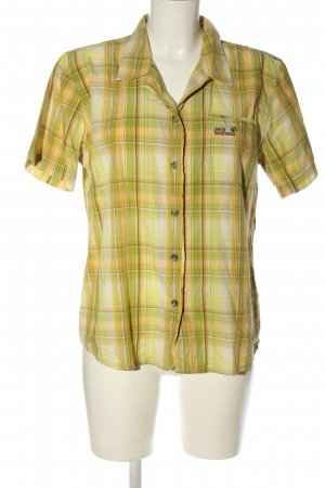 Jack Wolfskin Short Sleeve Shirt green-primrose allover print casual look