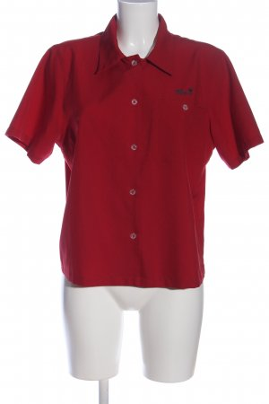 Jack Wolfskin Short Sleeve Shirt red casual look
