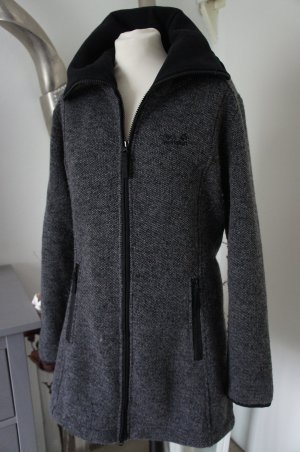 Jack Wolfskin Manteau court gris anthracite