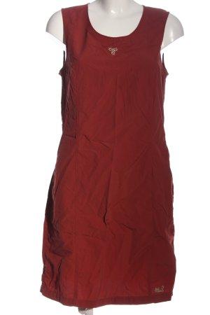 Jack Wolfskin A-Linien Kleid rot Casual-Look
