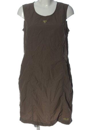 Jack Wolfskin Mini Dress brown casual look