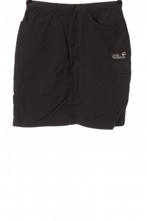 Jack Wolfskin Minifalda negro look casual