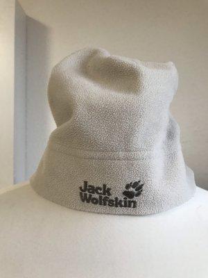 Jack Wolfskin Sombrero de tela crema-blanco puro