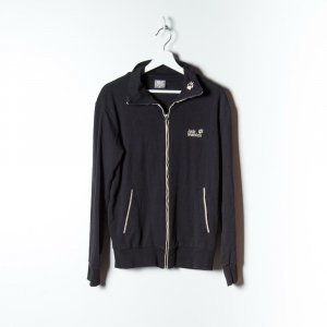 Jack Wolfskin Sweat Jacket black cotton