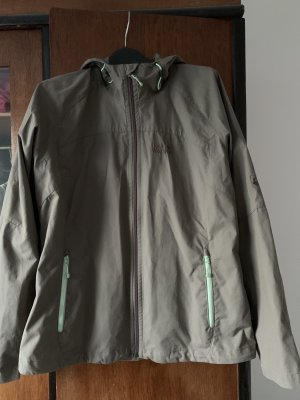 Jack Wolfskin Outdoor Jacket ocher-meadow green