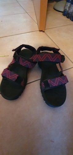 Jack Wolfskin Outdoor sandalen zwart-roze