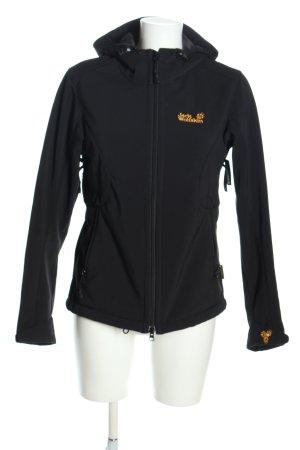 Jack Wolfskin Outdoor Jacket black casual look