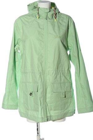 Jack Wolfskin Outdoor Jacket green casual look