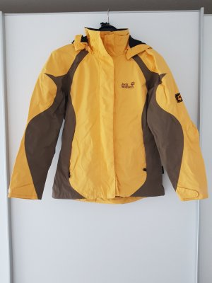 Jack Wolfskin Chaqueta para exteriores amarillo