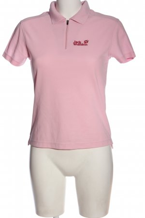 Jack Wolfskin Polo rosa-rosso stile casual