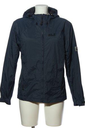 Jack Wolfskin Regenjacke blau sportlicher Stil