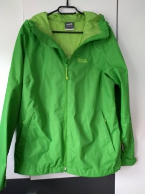 Jack Wolfskin Raincoat grass green