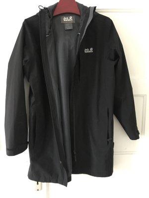 Jack Wolfskin Regenjacke JWP Coat schwarz in S