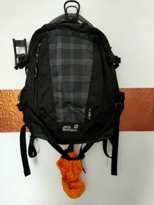 Jack Wolfskin Sac à dos pour ordinateur portable noir-argenté tissu mixte